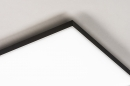 Plafondlamp 73916: design, modern, kunststof, metaal #6