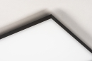 Plafondlamp 73916: design, modern, kunststof, metaal #7