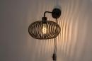 Wandlamp 73922: landelijk, rustiek, modern, retro #1