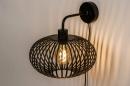 Wandlamp 73922: landelijk, rustiek, modern, retro #2