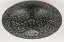 Plafondlamp 73940: modern, eigentijds klassiek, metaal, zwart #3
