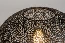 Tafellamp 73943: modern, metaal, zwart, mat #3