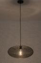 Hanglamp 73944: modern, eigentijds klassiek, metaal, zwart #2