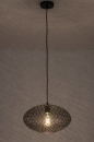Hanglamp 73945: modern, metaal, zwart, mat #2