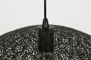 Hanglamp 73945: modern, metaal, zwart, mat #8