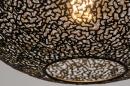 Hanglamp 73946: modern, metaal, zwart, mat #6