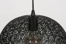 Hanglamp 73946: modern, metaal, zwart, mat #8