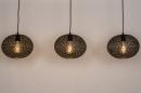 Hanglamp 73948: modern, eigentijds klassiek, metaal, zwart #6