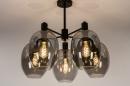 Plafondlamp 73952: modern, retro, eigentijds klassiek, art deco #2