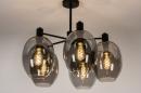 Plafondlamp 73952: modern, retro, eigentijds klassiek, art deco #3