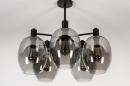 Plafondlamp 73952: modern, retro, eigentijds klassiek, art deco #4