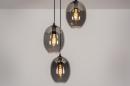 Hanglamp 73954: modern, retro, eigentijds klassiek, glas #1