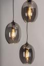 Hanglamp 73954: modern, retro, eigentijds klassiek, glas #2