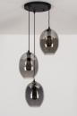 Hanglamp 73954: modern, retro, eigentijds klassiek, glas #4