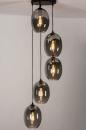 Hanglamp 73955: modern, retro, eigentijds klassiek, glas #2