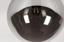 Plafondlamp 73956: modern, retro, eigentijds klassiek, glas #5