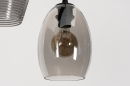 Hanglamp 73957: modern, retro, eigentijds klassiek, glas #17