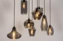 Hanglamp 73957: modern, retro, eigentijds klassiek, glas #3