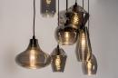 Hanglamp 73957: modern, retro, eigentijds klassiek, glas #4