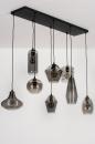 Hanglamp 73957: modern, retro, eigentijds klassiek, glas #6