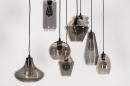 Hanglamp 73957: modern, retro, eigentijds klassiek, glas #8