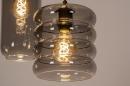 Hanglamp 73958: modern, eigentijds klassiek, glas, metaal #10