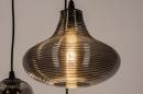 Hanglamp 73958: modern, eigentijds klassiek, glas, metaal #12