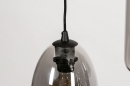 Hanglamp 73958: modern, eigentijds klassiek, glas, metaal #16