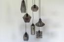 Hanglamp 73958: modern, eigentijds klassiek, glas, metaal #6