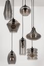 Hanglamp 73958: modern, eigentijds klassiek, glas, metaal #7