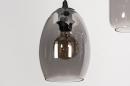 Hanglamp 73958: modern, eigentijds klassiek, glas, metaal #9