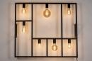 Wandlamp 73959: industrie, look, modern, metaal #4