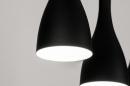 Hanglamp 73961: modern, retro, metaal, zwart #10