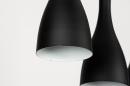 Hanglamp 73961: modern, retro, metaal, zwart #11