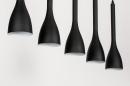 Hanglamp 73961: modern, retro, metaal, zwart #7