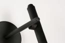 Wandlamp 73962: modern, retro, metaal, zwart #8