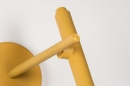 Wandlamp 73963: modern, retro, metaal, geel #8