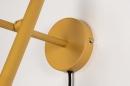 Wandlamp 73963: modern, retro, metaal, geel #9