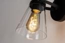 Wandlamp 73974: modern, glas, helder glas, metaal #6