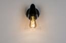 Wandlamp 73976: modern, glas, helder glas, metaal #3