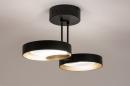 Plafondlamp 73984: design, modern, retro, eigentijds klassiek #5