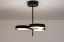 Plafondlamp 73985: design, modern, retro, eigentijds klassiek #4
