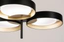 Plafondlamp 73985: design, modern, retro, eigentijds klassiek #8