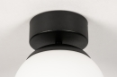 Plafondlamp 73990: sale, modern, retro, glas #3