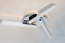 Plafondlamp 73991: modern, kunststof, acrylaat kunststofglas, metaal #1