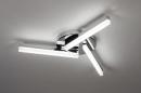 Plafondlamp 73991: modern, kunststof, acrylaat kunststofglas, metaal #2
