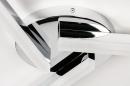 Deckenleuchte 73991: modern, Kunststoff, Kunststoffglas, Metall #5