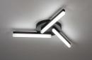 Plafondlamp 73992: modern, kunststof, acrylaat kunststofglas, metaal #1