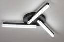 Plafondlamp 73992: modern, kunststof, acrylaat kunststofglas, metaal #2