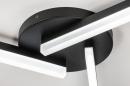 Plafondlamp 73992: modern, kunststof, acrylaat kunststofglas, metaal #4